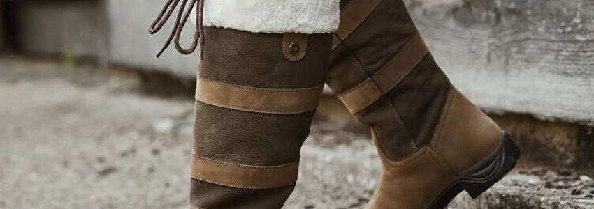 Staldstøvler er støvler til når man går i stalden og skal muge ud med mere.