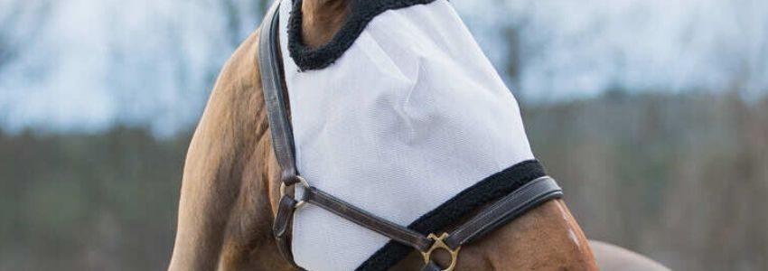 En fluemaske er unik ved at den holder din hest sund og rask ved at holde insekter på afstand fra den.