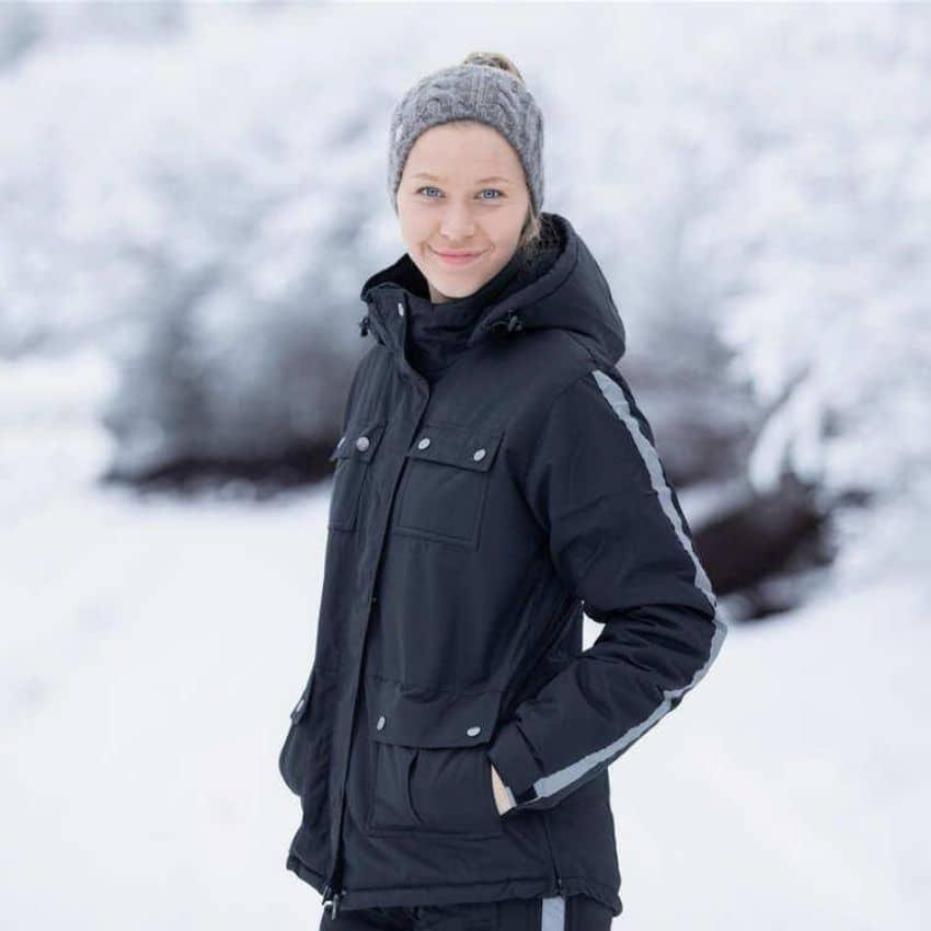En vinter ridejakke holder dig varm i de kolde tider på året